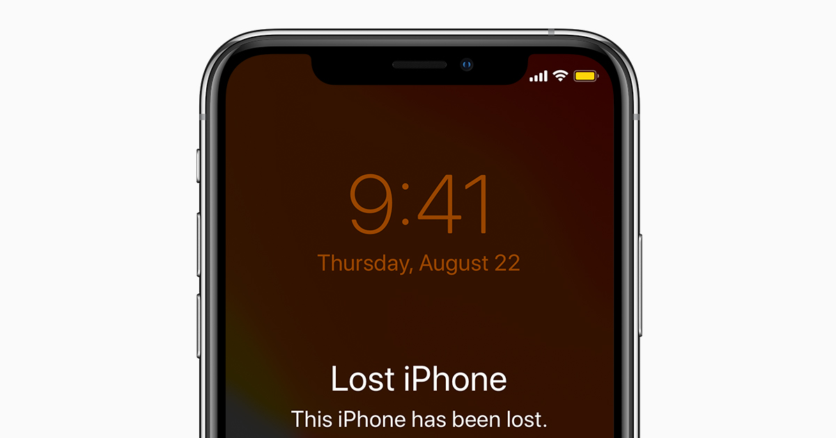 Apple perdido 1