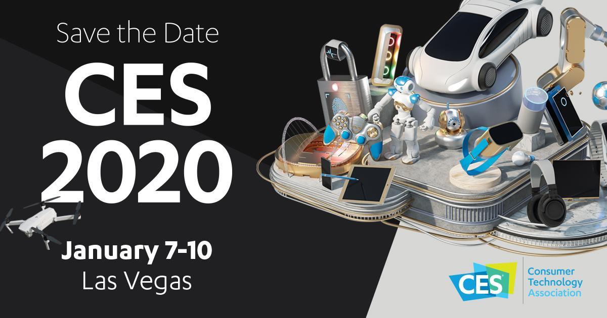 convite com data para a ces 2020
