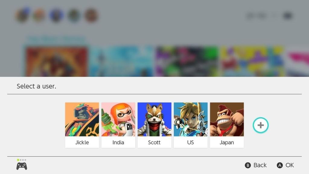 Você pode criar quantas contas de usuário quiser no Nintendo Switch, cada uma tendo um país de origem diferente
