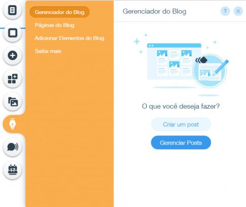 Gerenciar bem um blog é crucia