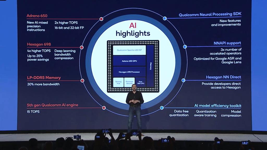 Inteligência artificial e outras tecnologias se destacam no novo snapdragon 865