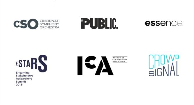 Ao redimensionar certas partes de um logo, aumentando ou diminuindo, os designers criaram uma hierarquia de elementos