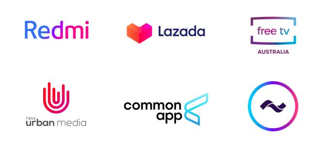 Em 2020, os degradês serão usados principalmente em logos minimalistas