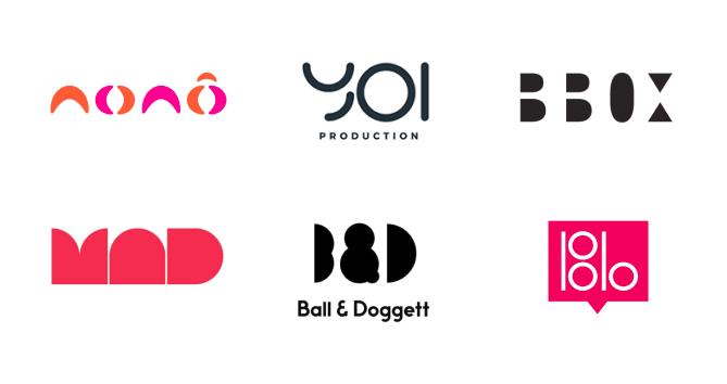 Letras compostas por formas geométricas são exatamente o tipo de truque de design que você precisa para despertar o interesse pela sua marca