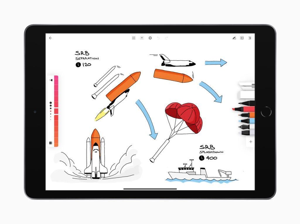 A possibilidade de usar o ipad como um caderno tornou o flow um dos melhores apps