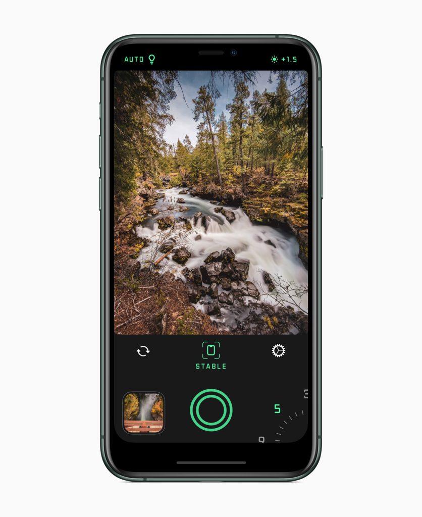O spectre camera foi considerado um dos melhores apps pelo seu uso de ia