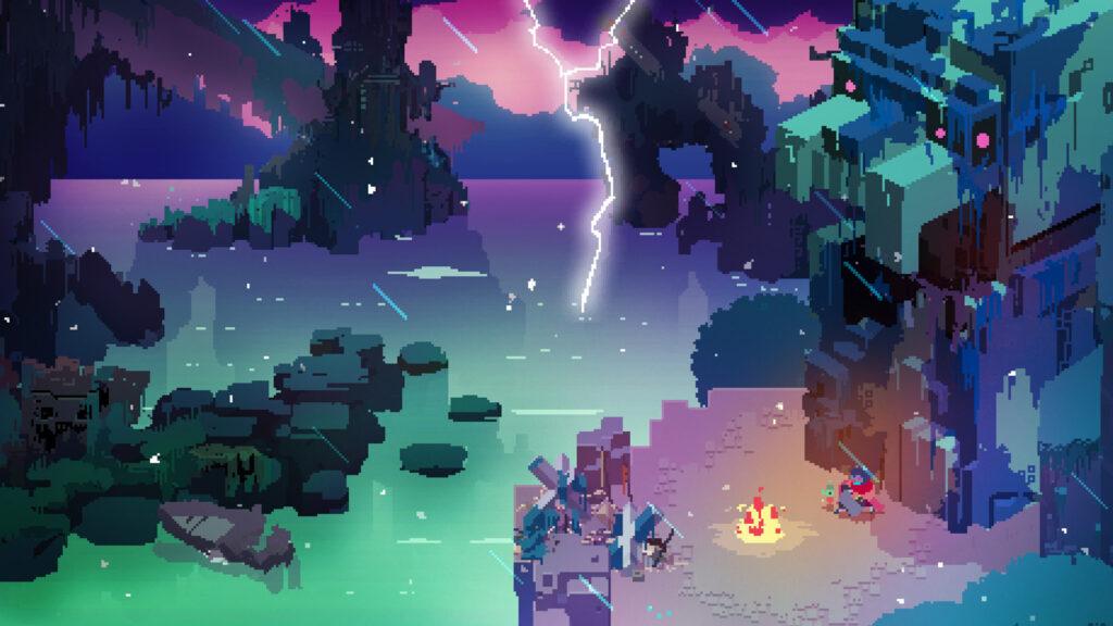 Hyper light drifter é um dos melhores jogos por combinar ação desenfreada e exploração