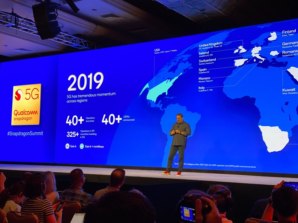 Avanço da conexão 5G no mundo