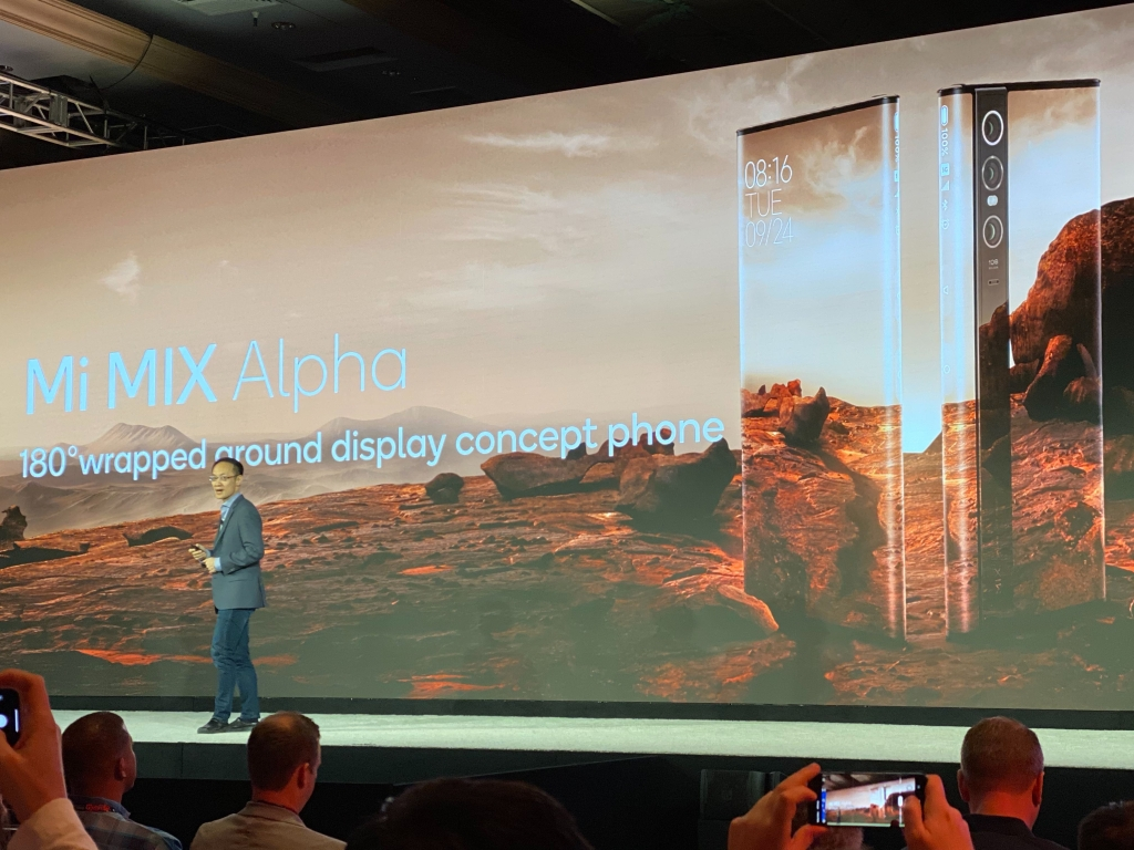 O Xiaomi Mi Alpha terá tela que ocupa 180° do corpo do smartphone