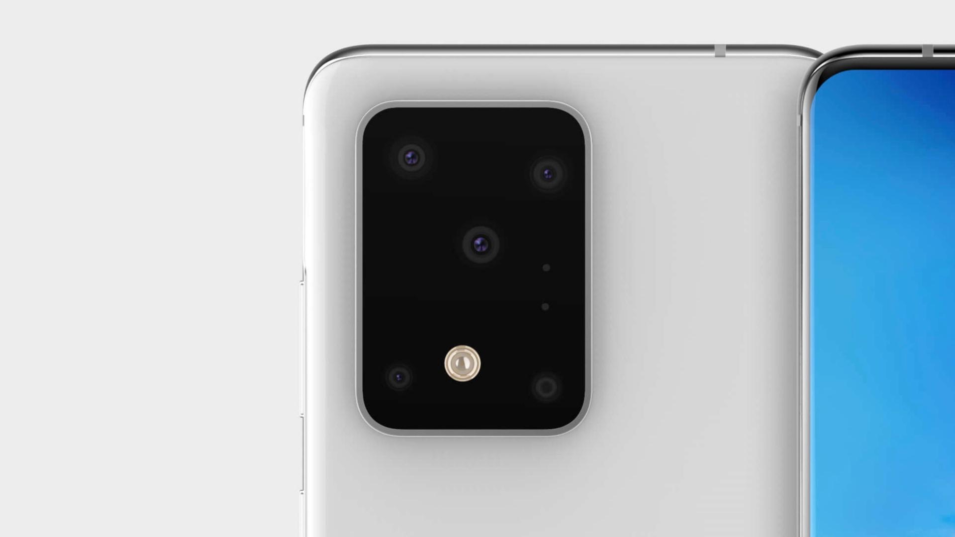 Samsung galaxy s11 camera module design