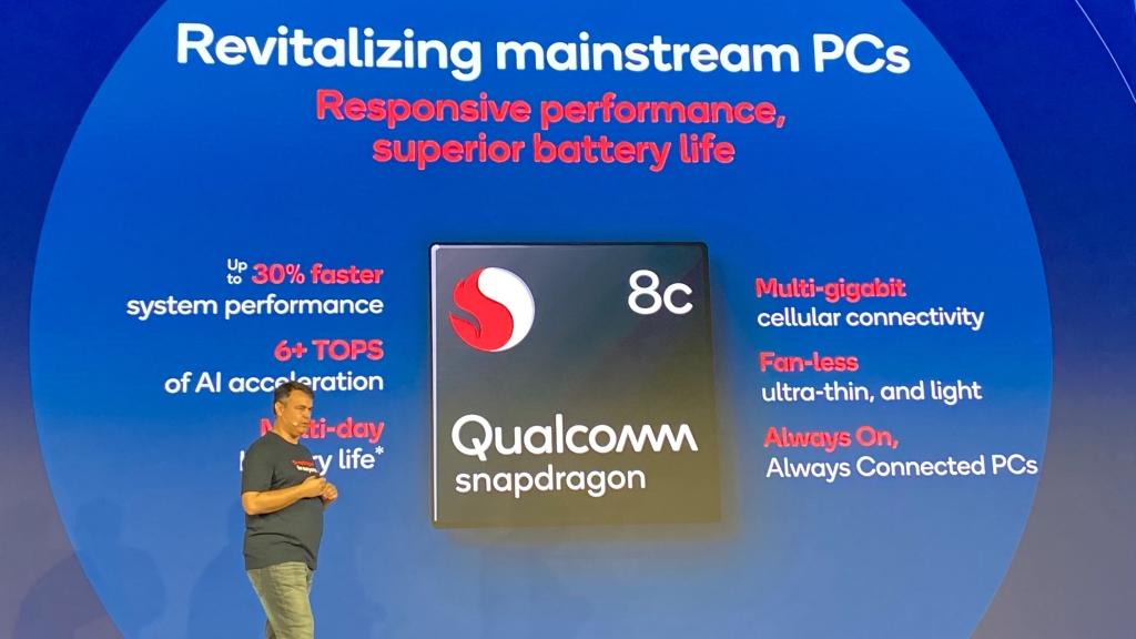 O Snapdragon 8c é a opção intermediária