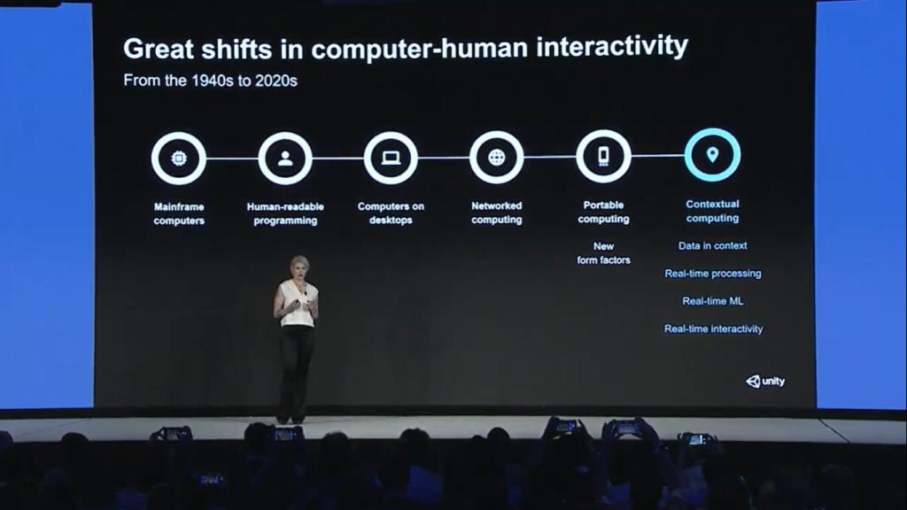 Timoni West, diretora do XR Labs na Unity, fala sobre a evolução dos computadores