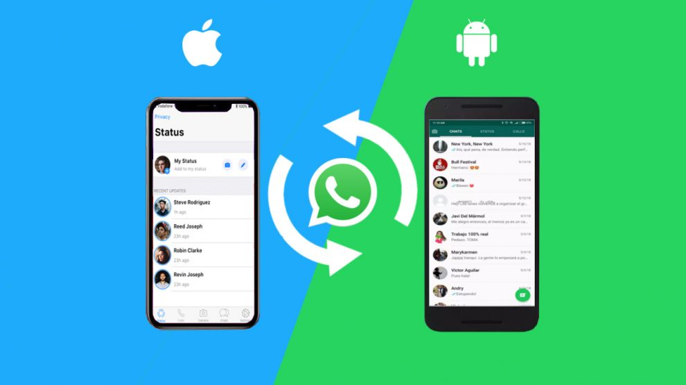 Como transferir dados do WhatsApp do Android para o iPhone facilmente