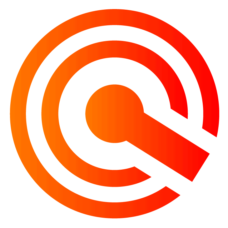 Ícone em alta resolução, laranja com fundo transparente