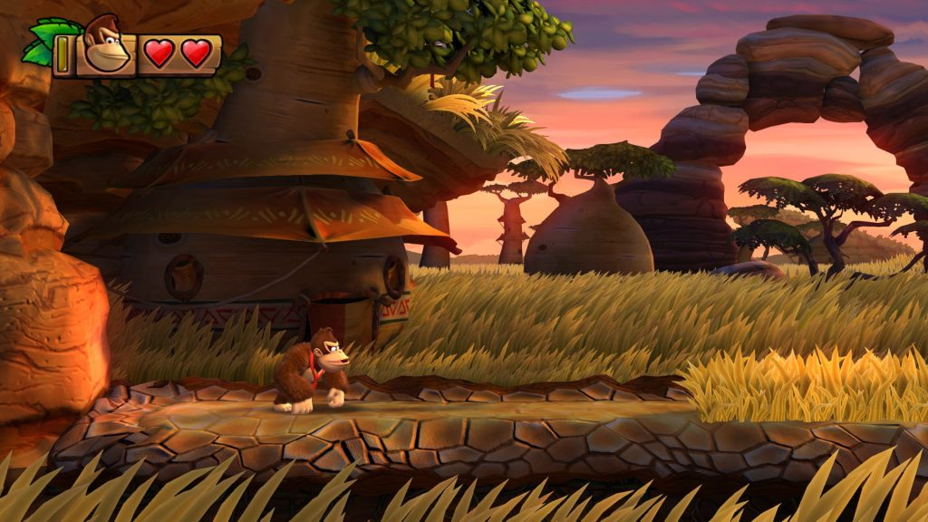 Donkey Kong Country: Tropical Freeze possui fases incríveis.