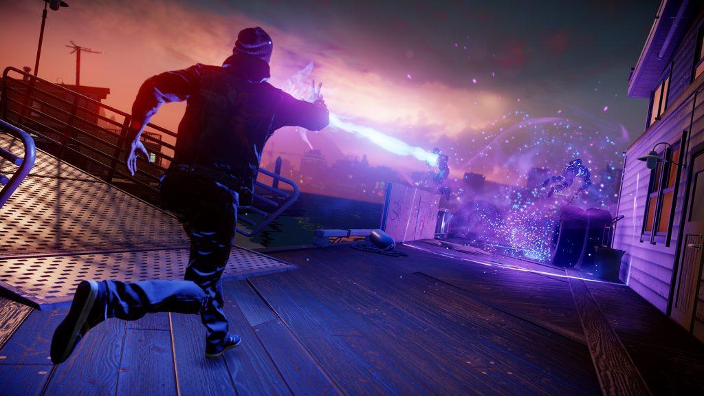 Infamous The Second Son chamou a atenção na época pelos gráficos e a jogabilidade competente (Foto: Reprodução)