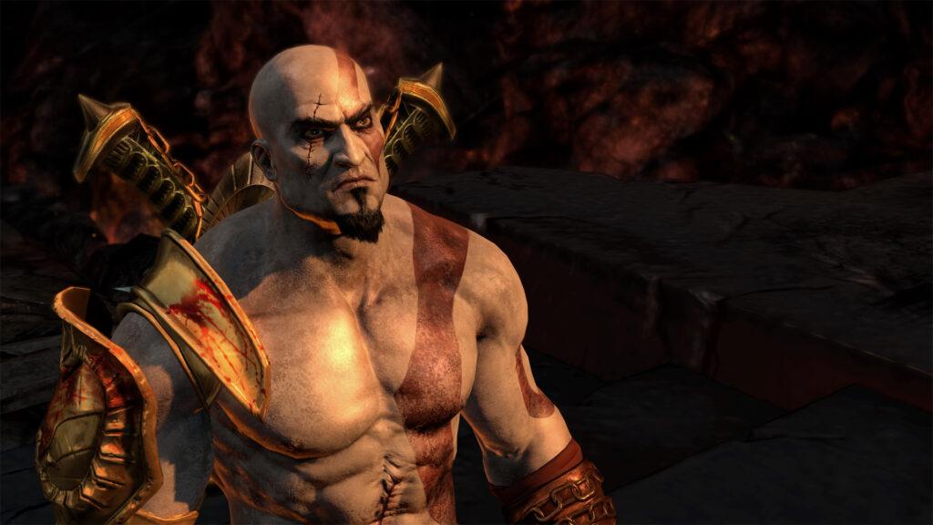 God of War III remastered é uma atualização do jogo de PS3, melhorando os gráficos (Foto: Reprodução)