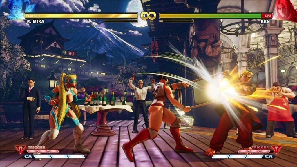 Street Fighter V é bastante tradicional, mas brilha justamente por manter o que foi bom na série, refinando-o para uma boa experiência (Foto: Reprodução)