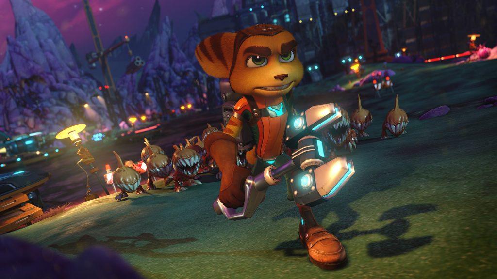 Ratcher & Clank surgiu no PS2 em uma época que os jogos de plataforma com mascotes já não faziam mais tanto sucesso. Mesmo assim, ele conseguiu seu espaço e virou uma série (Foto: Reprodução)