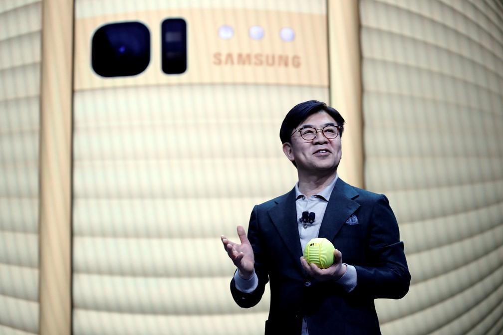 Presidente da divisão de eletrônicos de consumo da samsung