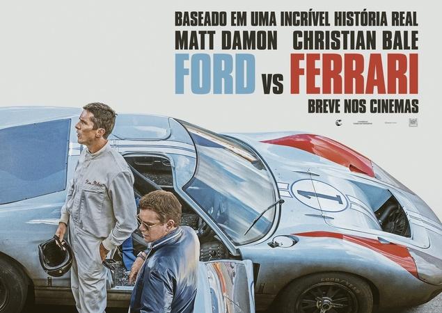 Ford vs Ferrari concorre na categoria de Melhor edição de som. Outros: Coringa, 1917, Era uma Vez em... Hollywood e Star Wars: A Ascensão Skywalker