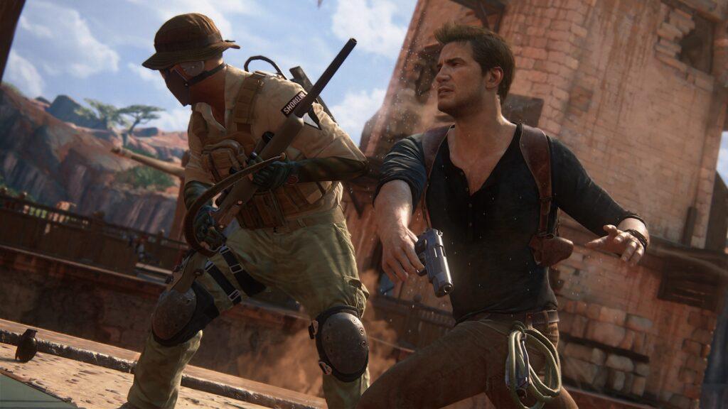 Uncharted 4 consegue se destacar dentro da própria série, que é considerada de excelência pela grande maioria dos críticos (Foto: Reprodução)