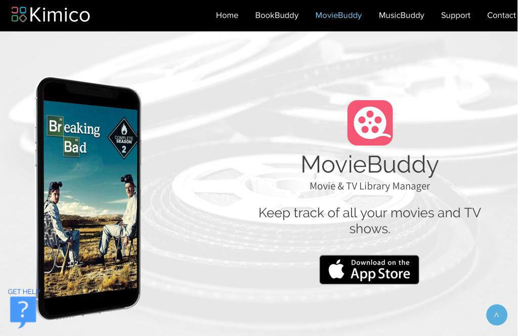 O MovieBuddy utiliza metadados para personalizar suas listas.
