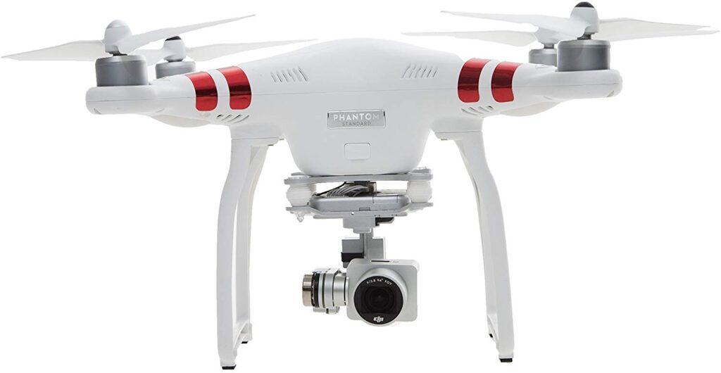 O DJI Phantom 3 foi um dos drones mais populares na década