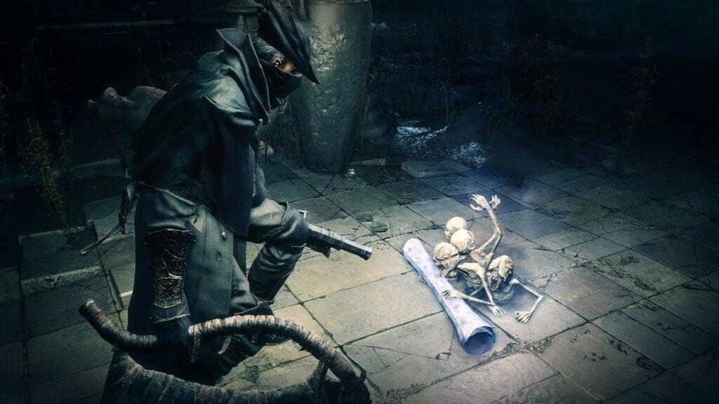Bloodborne é desenvolvido pela mesma equipe de Dark Souls, mas tem brilho próprio (Foto: Reprodução)