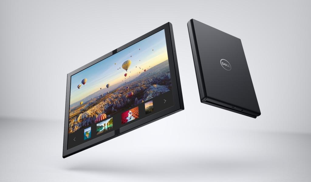 Um dos dispositivos dobráveis apresentados na CES 2020 é o Dell Ori