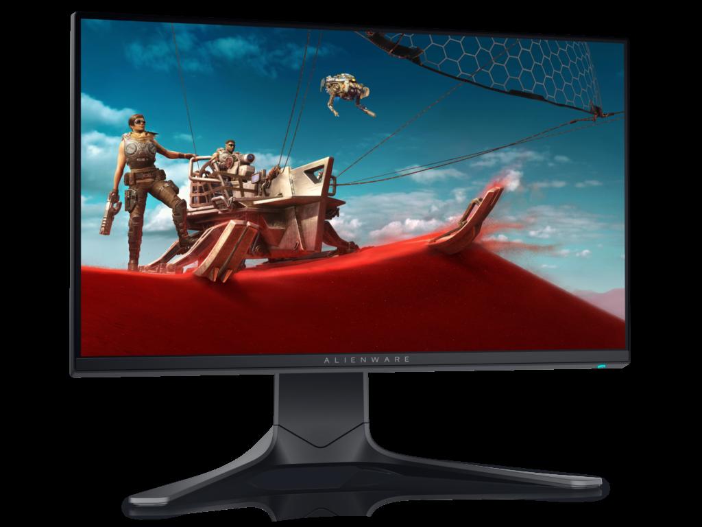 Alienware Gaming Monitor conta com 240 HZ com tempo de resposta de 1ms.