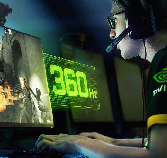 A Asus e a NVIDIA apresentam ao mundo o primeiro monitor gamer com taxa de atualização de 360 Hz.