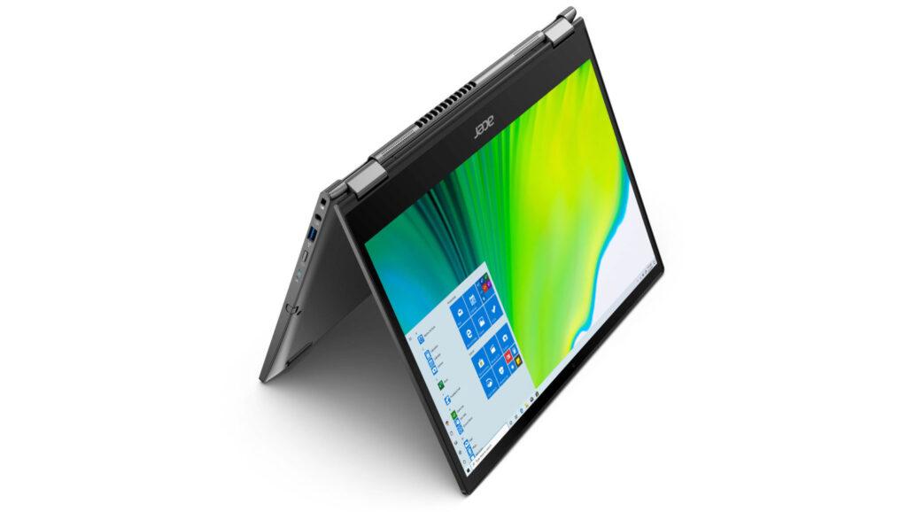 A Acer apresentou os novos notebooks Spin 3 e Spin 5, ambos são equipados com Windows 10 Home
