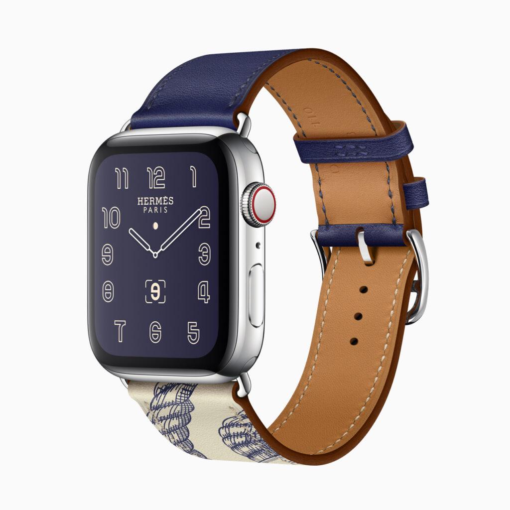 Belíssimos e caríssimos: parceria da Apple com a grife Hermès segue firme com o Series 5.