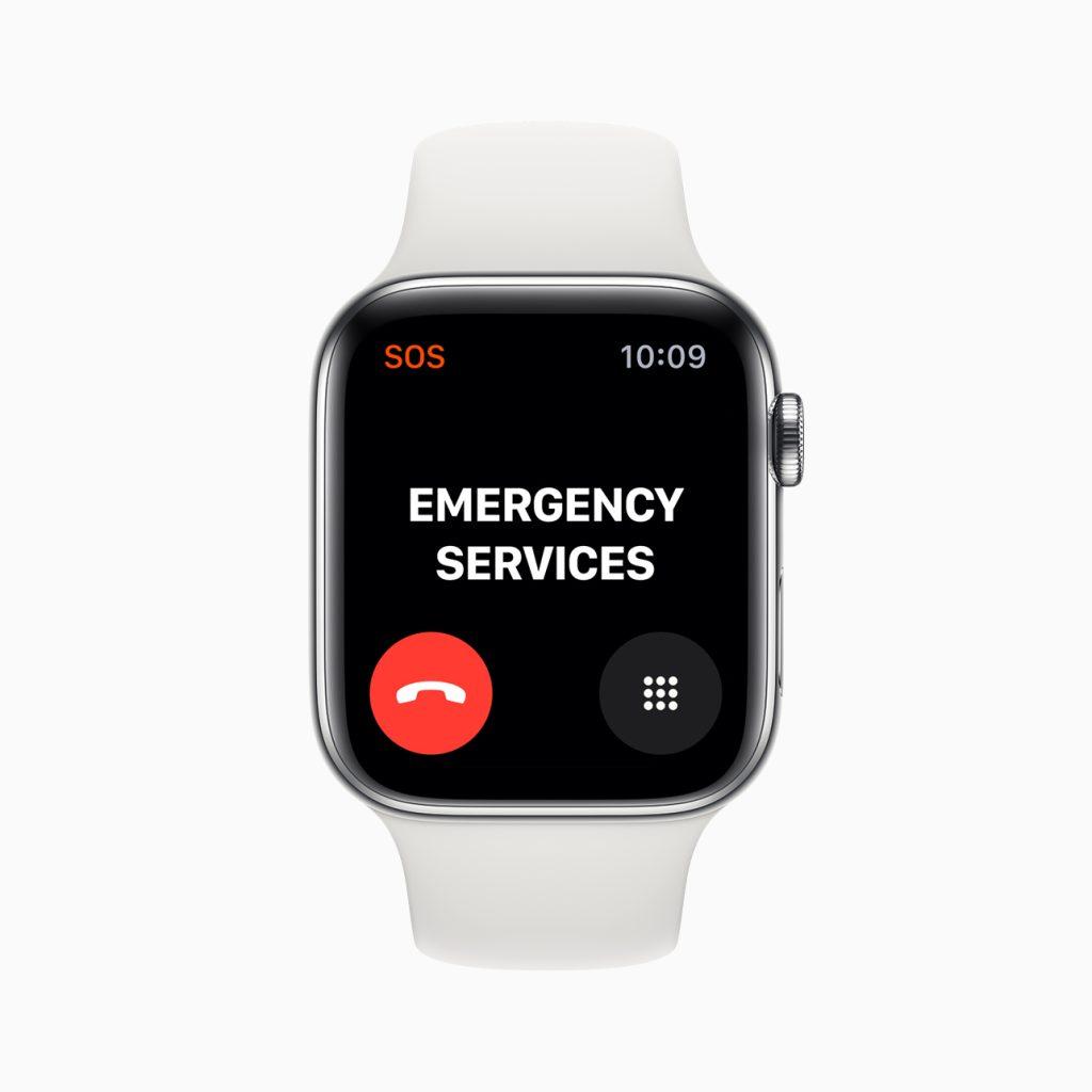 Serviços de emergência internacionais disponíveis para todos os Apple Watches com conexão 4G.