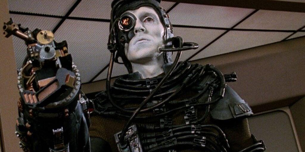 I, Borg é o primeiro episódio onde aparece Hugh The Borg (Foto: Reprodução)