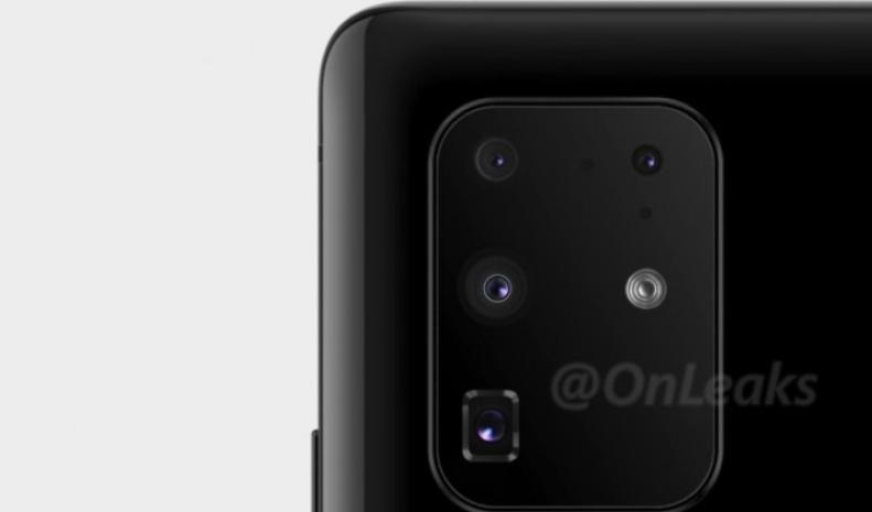 O Galaxy S20 deverá ter câmera com até cinco sensores (Foto: OnLeaks/Blog Naver)