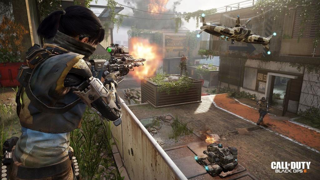 Black Ops III é considerado mais um excelente game da série Call of Duty. Não traz muitas novidades, mas mantém o que foi bom nos anteriores (Foto: Reprodução)