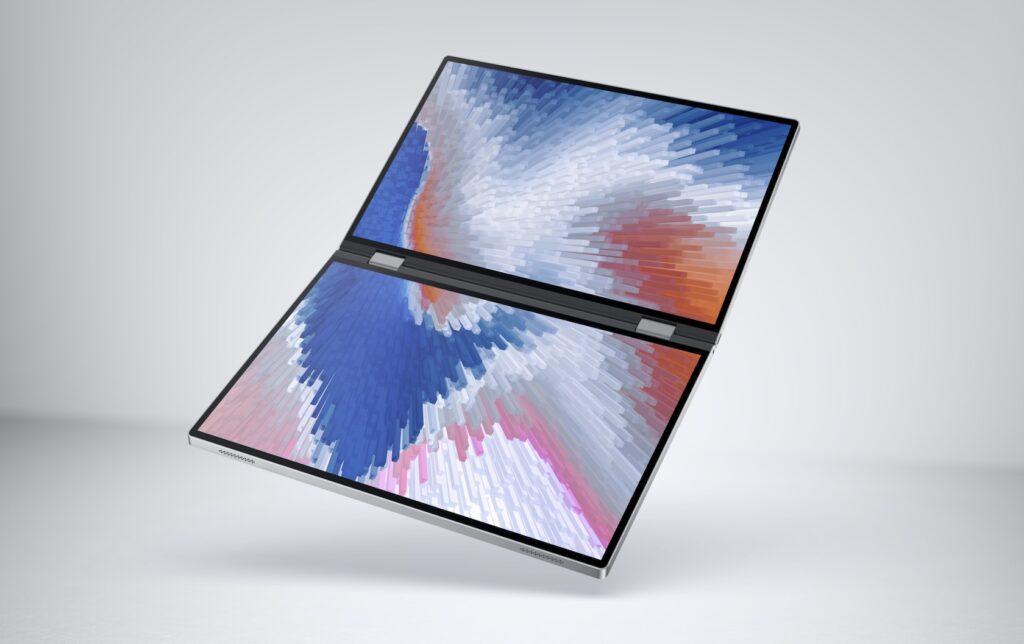 Dell Concept Duet é um notebook com duas telas (Reprodução: Dell)
