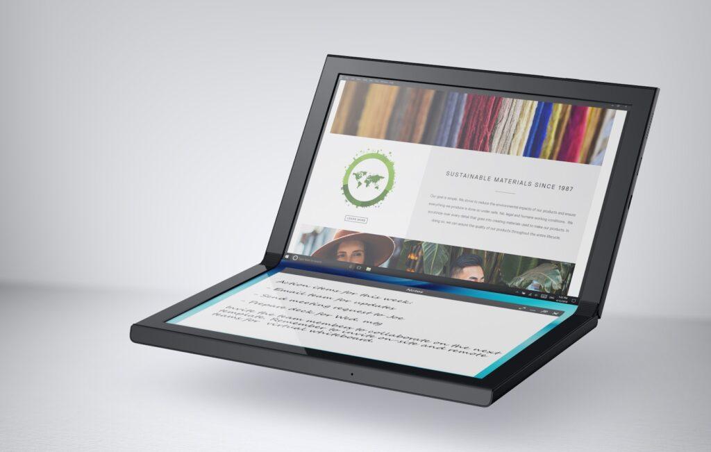 O Concept Ori é bem semelhante ao ThinkPad X1 Pad