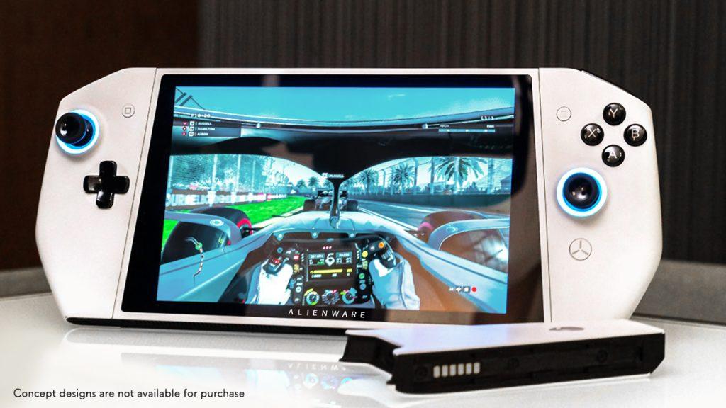Concept ufo é a aposta da dell para inovar na forma de jogar games de pc (foto: reprodução)