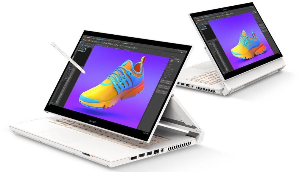 ConcdpgD da Acer é um notebook portátil para os usuários mais exigentes (Reprodução: Acer)