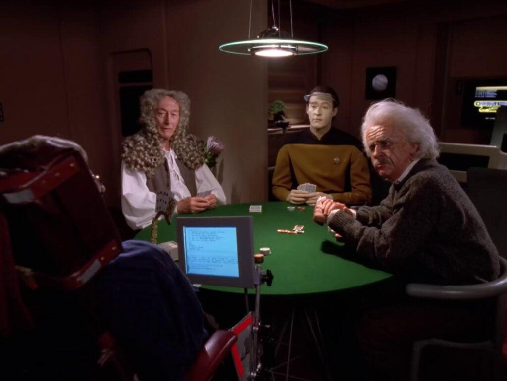 Descent é um dos episódios mais populares de Star Trek: Next Generation (Foto: Reprodução)