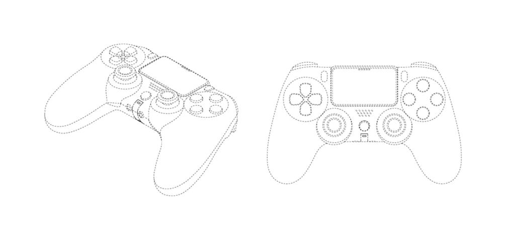 A patente do dualshock 5 nos mostra um joystick bem semelhante ao do ps4 (foto: reprodução)