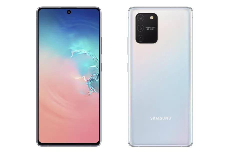 Samsung alterou o design do Galaxy S10 Lite em relação aos seus irmãos