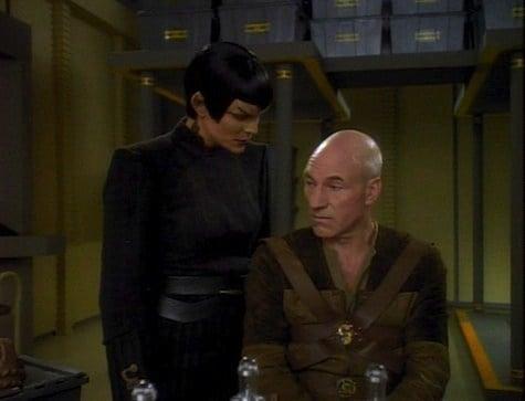 Gambit explora as aventuras do Capitão Picard sozinho (Foto: Reprodução)