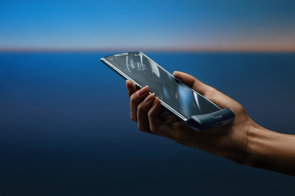 Motorola razr imagem de divulgação