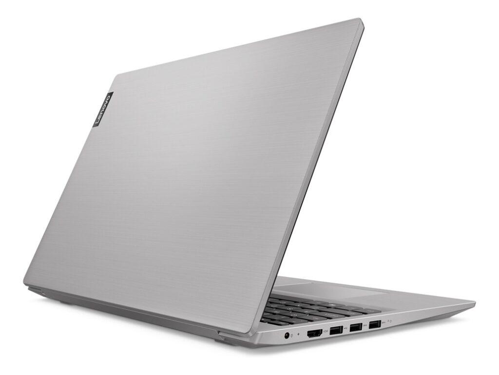 Minimalista, o design do Ideapad S145 é discreto e elegante