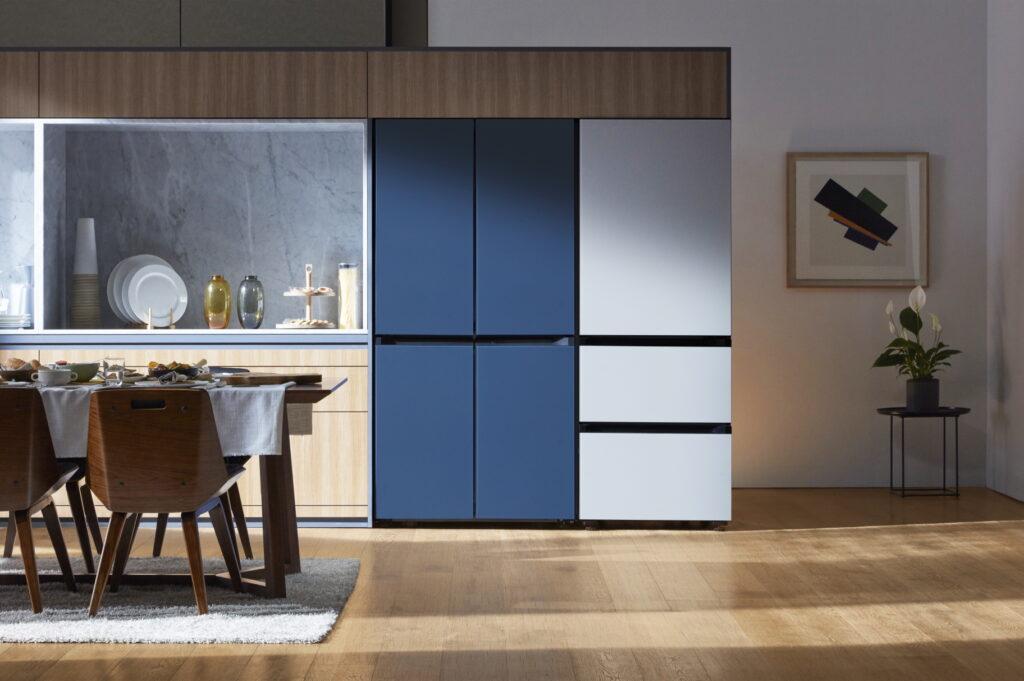 BESPOKE, a geladeira modular da Samsung (Divulgação)