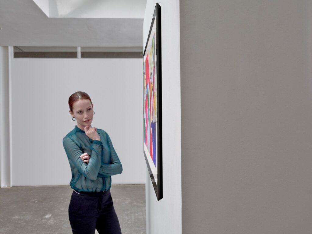 Nova linha gallery da lg é bastante semelhante a um quadro (reprodução: lg)